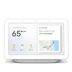 "Google 7"" Touchscreen Nest Hub Voice-Activated Smart Assistant"
