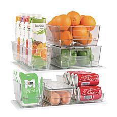 Gourmet Edge 7-piece Fridge Bin Organizing Set