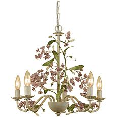 Grace Five Light Chandelier
