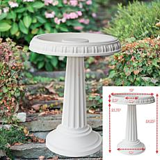 Grecian Bird Bath 24 in x 19 in