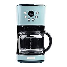 Haden Heritage 12-Cup Programmable Coffee Maker - Turquoise