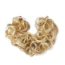Hair2Wear Christie Brinkley Medium Blonde Loose Wire Wrap Hairpiece