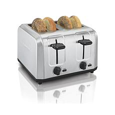 Hamilton Beach Brushed Stainless Steel 4-Slot Toaster