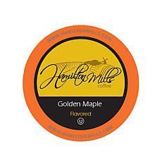 Hamilton Mills Golden Maple Flavored Coffee Pods 40-Count