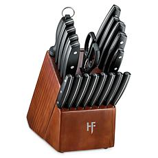 Hampton Forge Atlantis 20-Piece Full Tang Knife Block Set