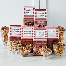 Hampton Popcorn 6pk Chocolate Covered Gourmet Popcorn Gifts - November