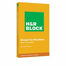 H&R Block Basic Tax Software