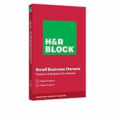 H&R Block Premium & Business Tax Software