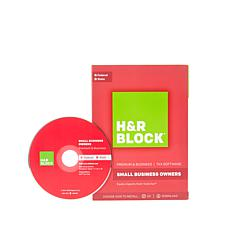 H&R Block Premium + Small Business Tax Software