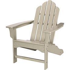 Hanover All-Weather Contoured Adirondack Chair - Sand