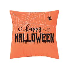 Happy Halloween Web Pillow