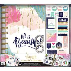 Happy Memory Keeping Undated 12-Month Planner Kit- Life is Beautiful