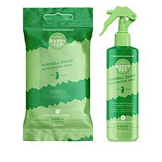 Happy Pet Fresh Collection Deodorizing Spray and Wipes