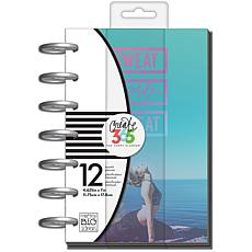 Happy Planner 12-Month Undated Mini Planner  - Sweat Smile Repeat