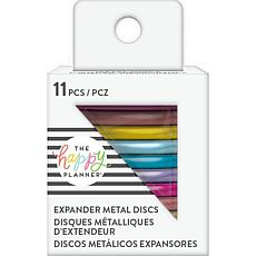 Happy Planner Metal Expander Big Discs 1.75 11-pack - Rainbow