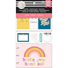 Happy Planner Note Cards/Sticky Note Multi Pack - Stay Rad Student
