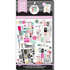 Happy Planner Sticker Value Pack - Color Story Classic