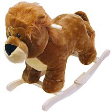 Happy Trails Plush Rocking Animal - Lion