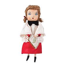 Harmony Caroling Girl Figurine
