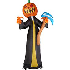 Haunted Hill Farm 20' Inflatable Jack O'Lantern Reaper with Lights