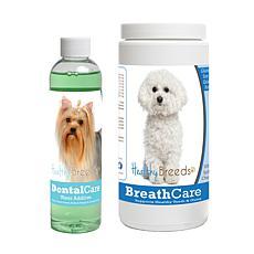 Healthy Breeds Snappy Dental Care w/Dental Rinse & Breath Care Chews