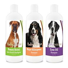 Healthy Breeds Triple Skin Care Variety Pack of Shampoos