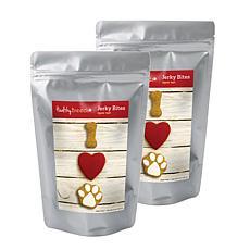 Healthy Breeds Valentine's Day Jerky Beef Dog Treats 2-Pack 10 oz.