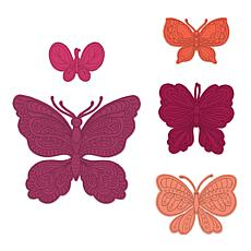 Heartfelt Creations Small Floral Butterfly Die