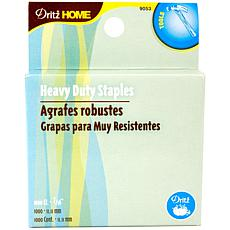 "Heavy-Duty Staple Gun Refills 7/16"" 1000 Pack"