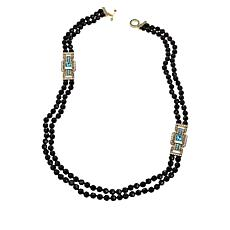 "Heidi Daus ""A Class Act"" Beaded 2-Strand 37-1/2"" Necklace"