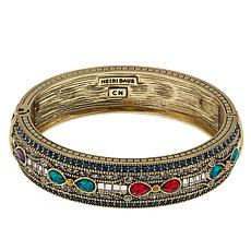 "Heidi Daus ""Age of Elegance"" Crystal Bangle Bracelet"