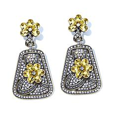 "Heidi Daus ""All That Glitters"" Crystal Drop Earrings"