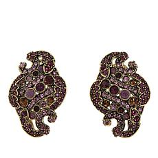 "Heidi Daus ""Captivating Carrie"" Crystal Earrings"