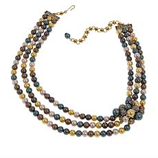 "Heidi Daus ""Captivating Cluster"" Multi-Strand 17"" Necklace"