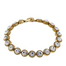 "Heidi Daus ""Captivating Coquette"" Crystal Link Bracelet"
