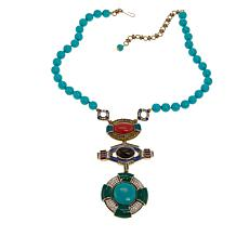 "Heidi Daus ""Cool Classic"" Beaded Crystal Drop Necklace"