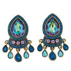 """Heidi Daus """"Crystal Magnetism"""" Dangle Earrings"""