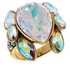 "Heidi Daus ""Dazzling Decolette"" Crystal Ring"