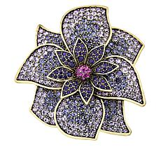 "Heidi Daus Disney's Mary Poppins Returns ""Blooms-Bury"" Crystal Pin"
