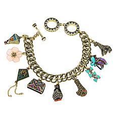 "Heidi Daus Disney's Mary Poppins Returns ""Old English Charm"" Bracelet"