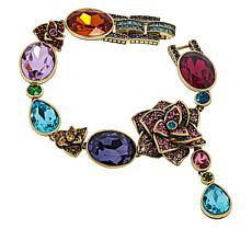 "Heidi Daus ""Dripping with Gems"" Floral Bracelet"