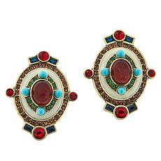 "Heidi Daus ""Eclectic Elegance"" Crystal Earrings"