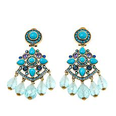 "Heidi Daus ""Enchanting Elegance"" Chandelier Drop Earrings"