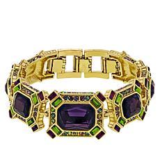 "Heidi Daus ""Estate Splendor"" Crystal Link Bracelet"