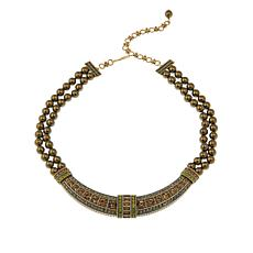 "Heidi Daus ""Everyday Elegance"" Collar Drop Necklace"