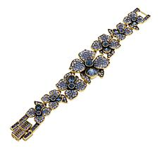 "Heidi Daus ""Eye Catching Array"" Crystal Link 7"" Bracelet"