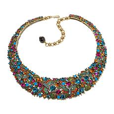 "Heidi Daus ""Fantasy in Flight"" Crystal Collar Necklace"