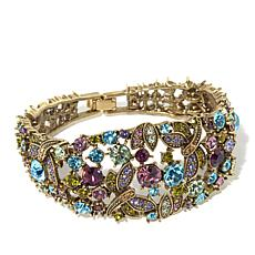 "Heidi Daus ""Fantasy in Flight"" Semi-Bangle Bracelet"