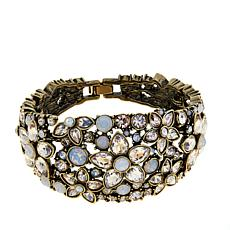 "Heidi Daus ""Fantasy in Florals"" Semi-Bangle Bracelet"
