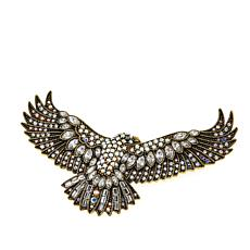 "Heidi Daus ""Fly Like an Eagle"" Crystal Pin"